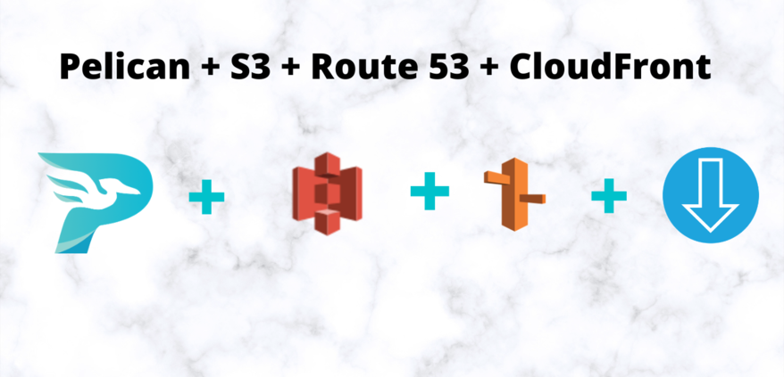 Pelican, S3, Route 53 and CloudFront
